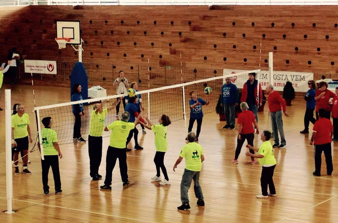 Olimpíadas Sénior com a participação da DECO